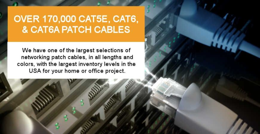 Networking Patch Cables: Largest Inventory in USA