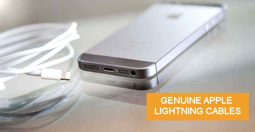 Genuine Applie Authorized Lightning Cables