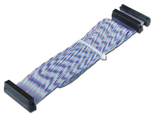 SCSI,20in Ultra160 Single Drive PVC Twisted Pairs Ribbon Cable + Ter