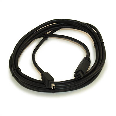 10ft, 9Pin to 4Pin Firewire-800/400 Bilingual Cable