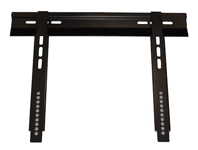 LOW PROFILE Wall Mount Bracket 23-52'' TVs to 100 lbs Black