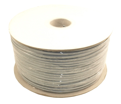 1000Ft RJ11 Modular Telephone Cable, (6P4C), 4 Conductor/2 Lines, UL