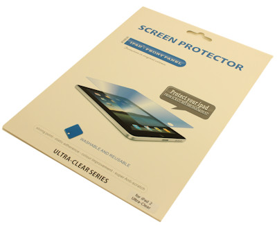 iPad Screen Protector, Ultra Clear, (iPad 2, 3 and 4), Each