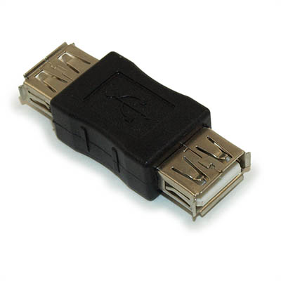USB A Female to A Female Coupler Adapter / Gender Changer