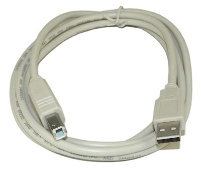 6ft USB 2.0 Certified 480Mbps Type A Male to B Male Cable, Beige