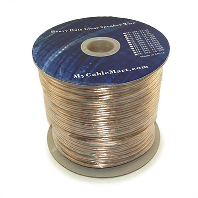 Speaker Wire, 500ft, 12AWG Copper Enhanced Loud Oxygen Free