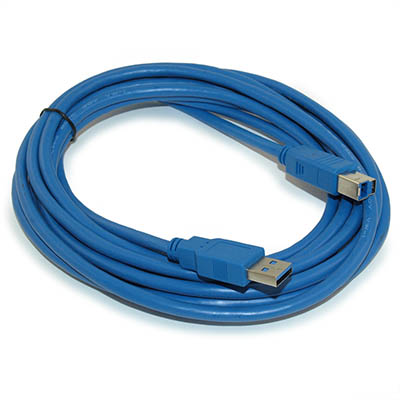 12ft USB 3.0 SUPERSPEED Type A Male to B Male Cable