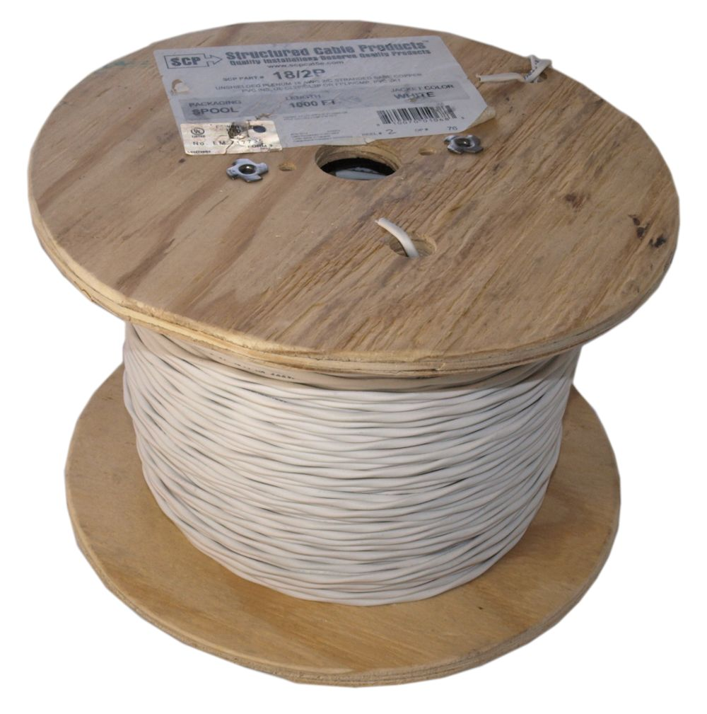 My Cable Mart Speaker Wire 1000ft 18awg Copper