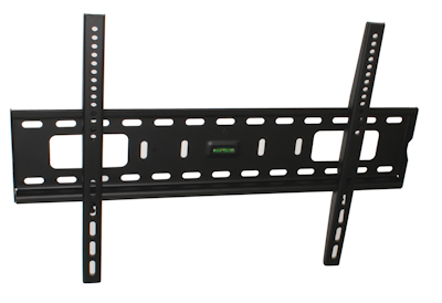 LOW PROFILE HEAVY DUTY Wall Mount Bracket 37-70'' TVs to 165 lbs Black