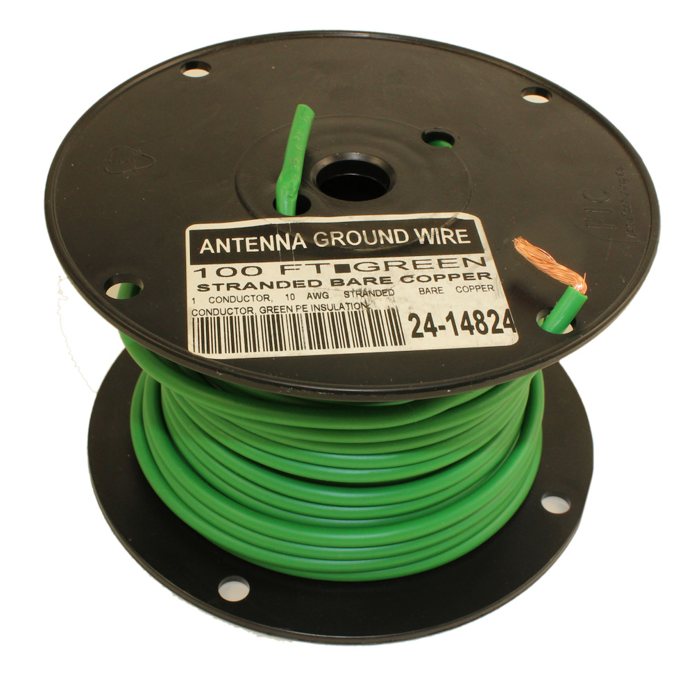 My Cable Mart 100ft Antenna Satellite Ground Wire 10awg