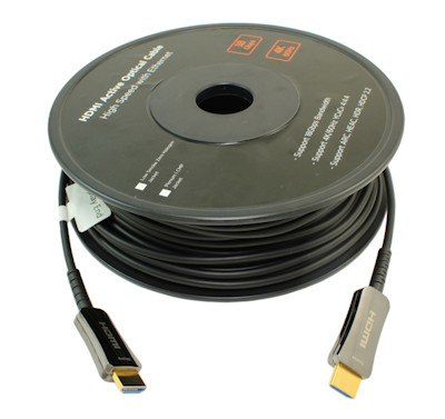 66ft Ultra HIGH SPEED HDMI 18Gb Fiber Optic/Hybrid Cable 4Kx2K/60Hz