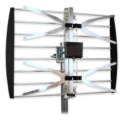 HDTV Off-Air UHF Antenna, Compact, Side/Roof Mount, up to 30 Miles