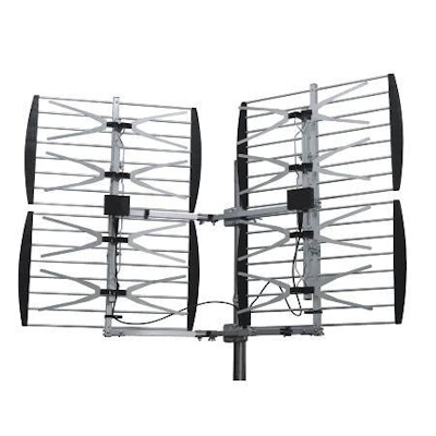 HDTV Off-Air UHF Antenna, Full Sized, Roof/Attic Mount, up to 80 Miles