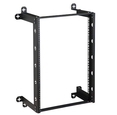 16U Fixed V-Line Wall Mount Rack 12inches Deep