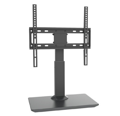 TILT ONLY Table Top Wall Mount Bracket 32-55'' TVs to 77 lbs, Black