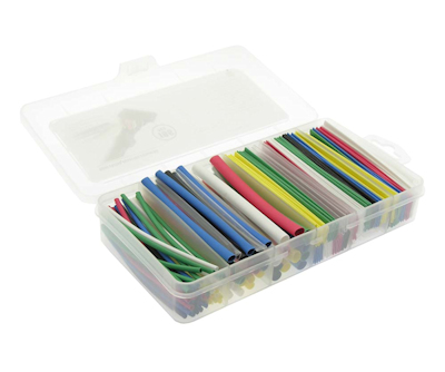 Heat Shrink Tub Kit, Assorted Colors (196 pieces)