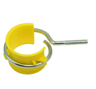 2 inch Bridle Ring with Saddle - Threaded Machine Screw (1/4-20) Type