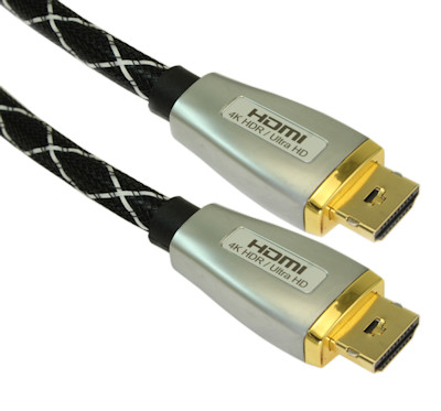 15ft ELITE Ultra High Speed 4K@60Hz/18Gb HDMI Cable 28AWG Gold Plated